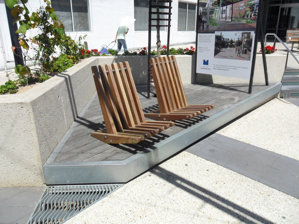 Choosing the Right Street and Park Furniture